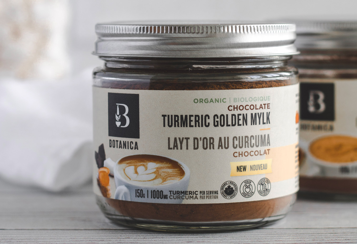 Chocolate Turmeric Golden Mylk